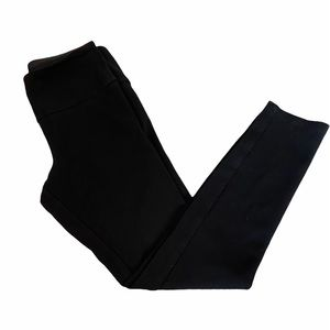ALFRED SUNG Black Stretch Thick Fitted Legging S